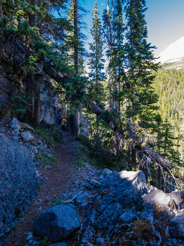 The short trail to Panther Falls is surprisingly interesting.
