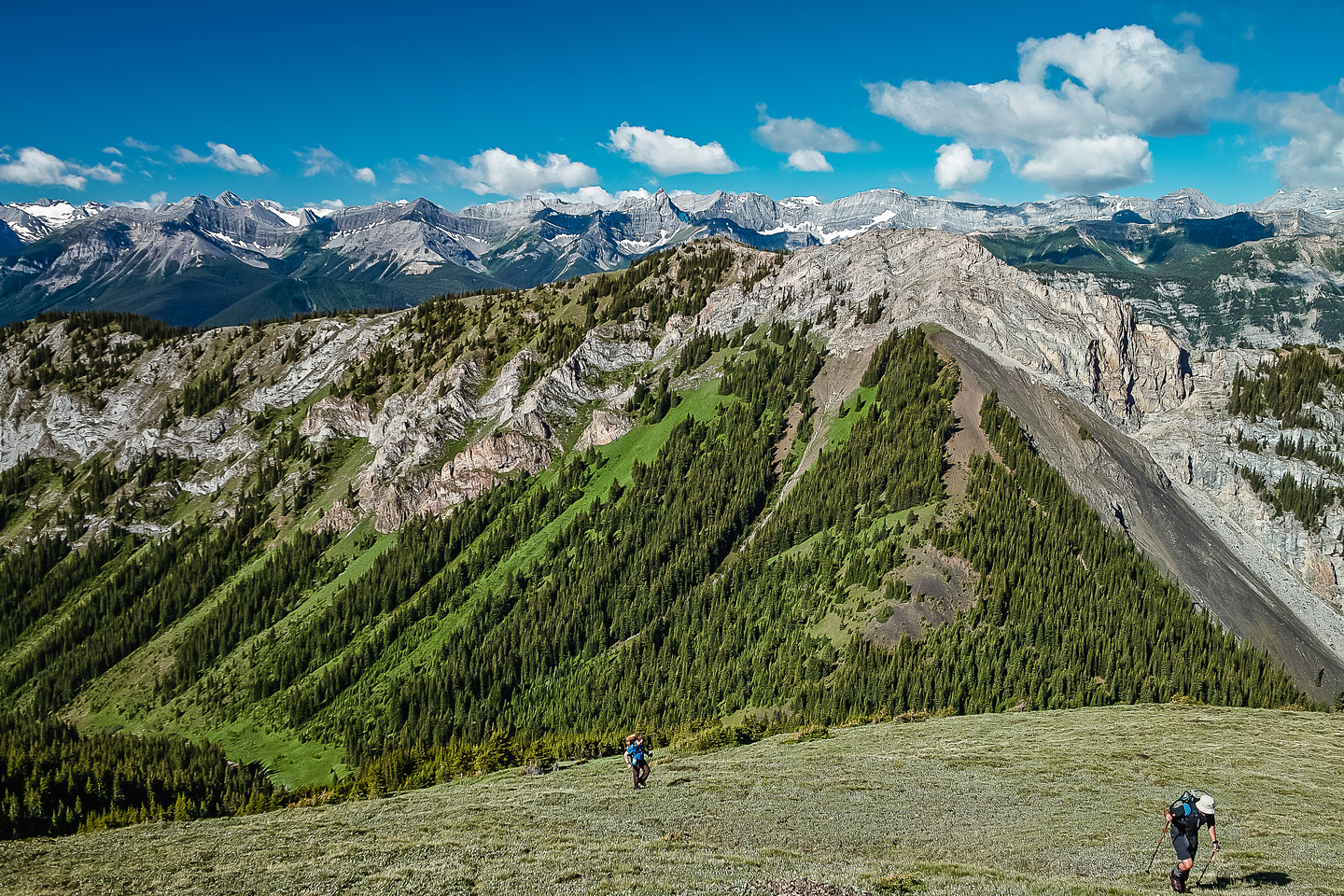 King Creek Ridge is in the immediate background. (Kane's 'unnamed ridge to the west...)