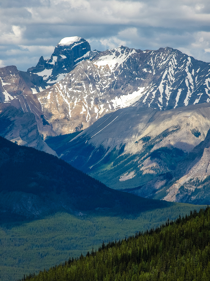 Mount St. Bride in Skoki has only been summitted a few times.