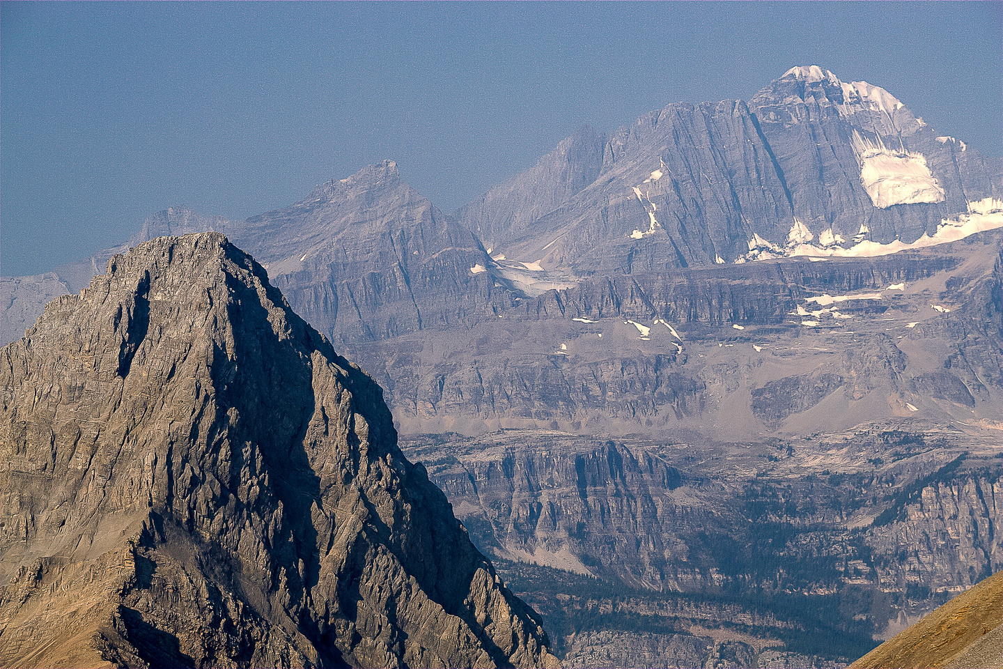 One last look at the giant Mount King George with Princess Mary to the left.