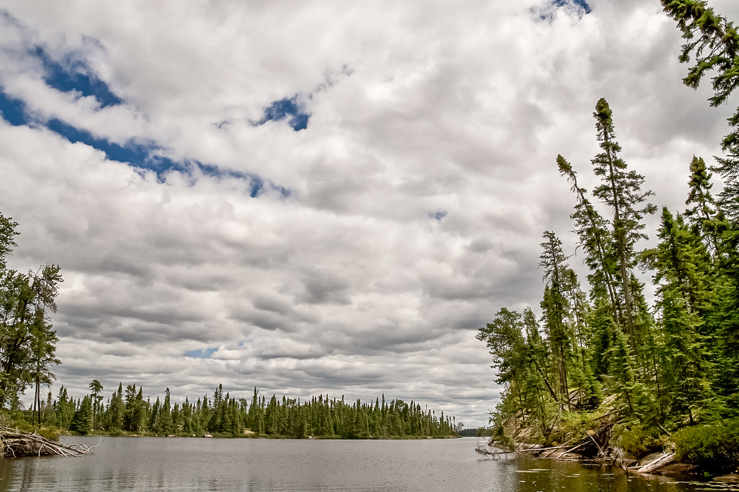The Eagle / Snowshoe Conservation Area beckons - this is Petch Lake.