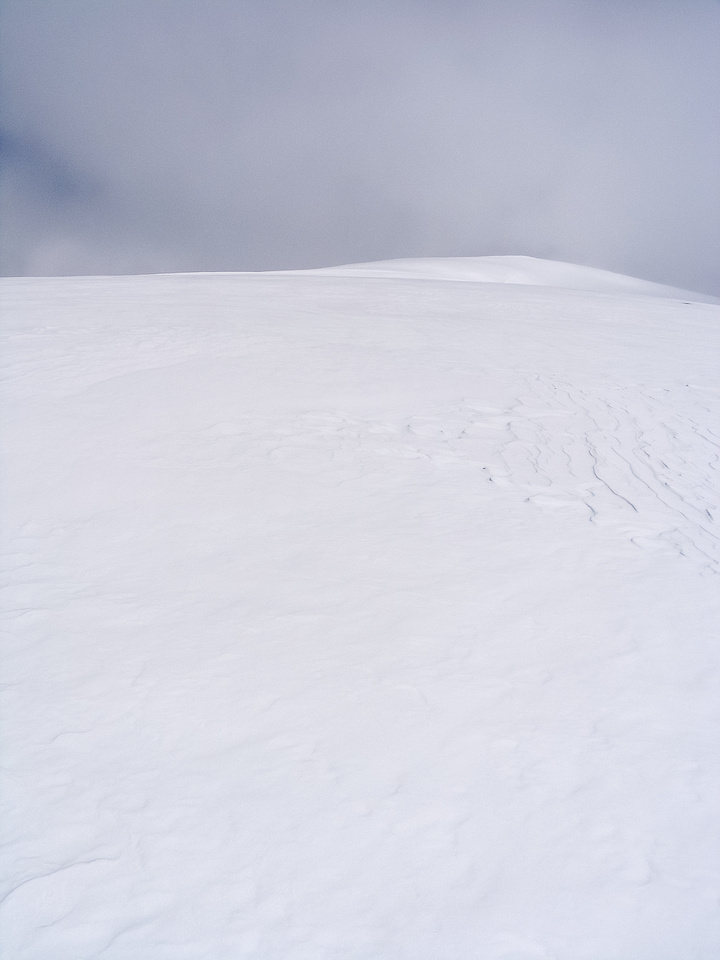 The giant south slope of Tangle Ridge.