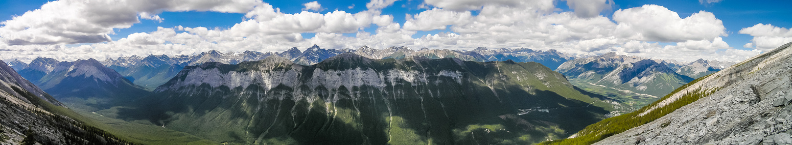 Sulphur Mountain is much larger than you'd think!