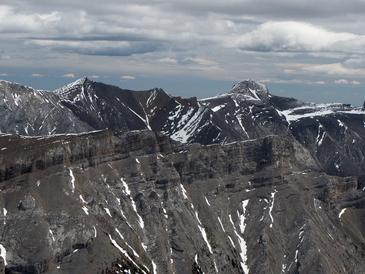 Mount Townsend at right.