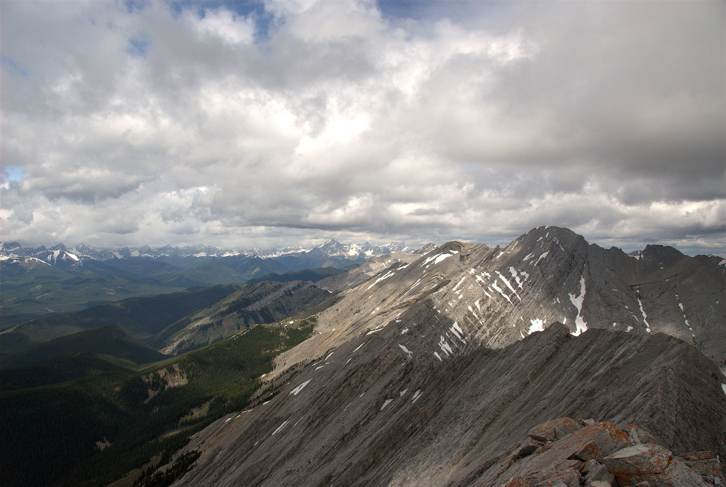 Looking north to Mount Head.