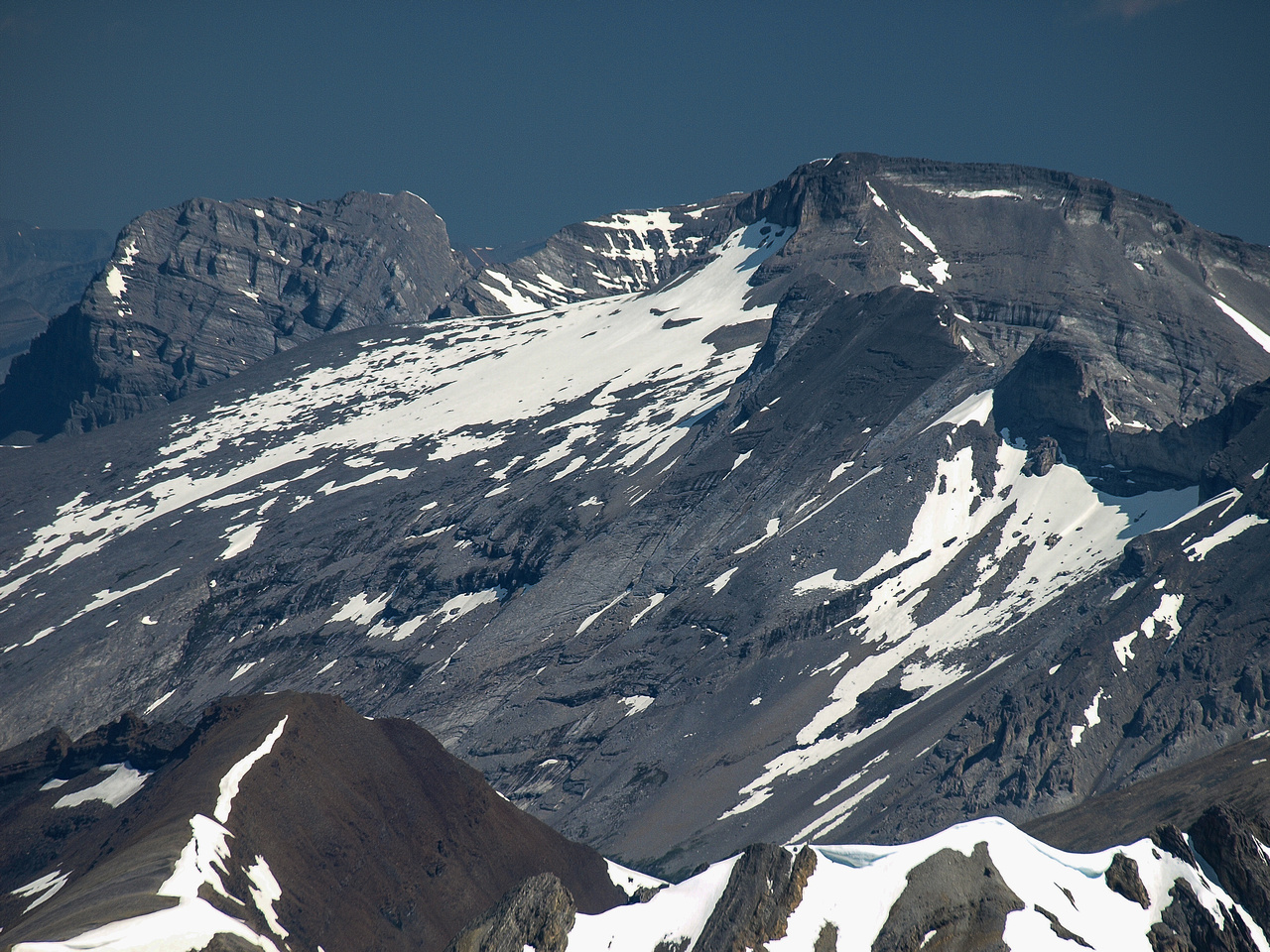 Mount Lougheed I (L) and Sparrowhawk (R)