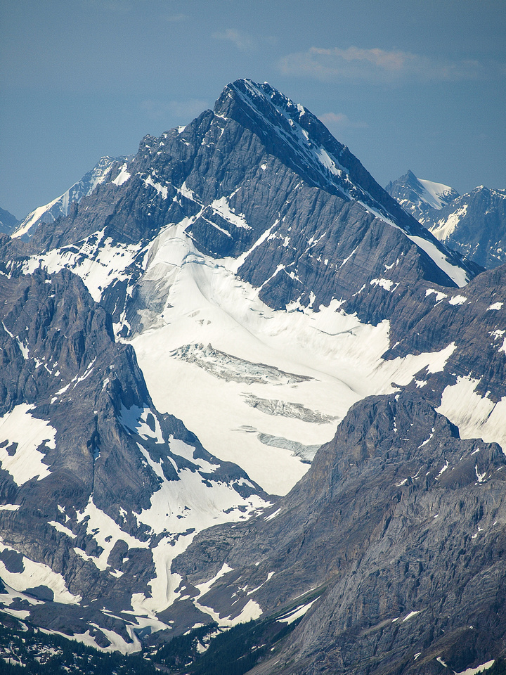 A spectacular perspective on Mount Sir Douglas - an 11,000er that I wouldn't climb for another 8 years after Galatea.