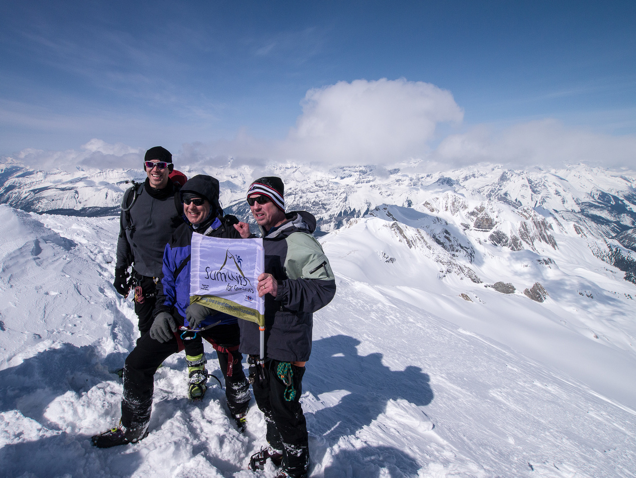 Summits for Seniors gets another peak! (And a senior?!)